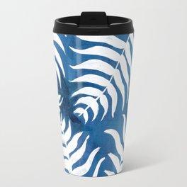 Caribean Blue Palms Travel Mug
