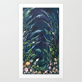 Undersea world # 2 Art Print