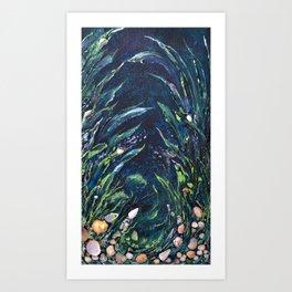 Undersea world # 2 Art Print