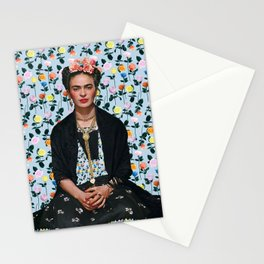 Flowers Frida Kahlo IV Stationery Cards