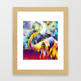 Elephant 4 Framed Art Print