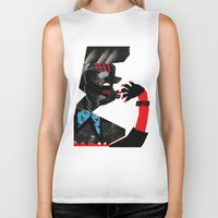 ethnic Biker Tanks featuring Ethnic by longmuzzle