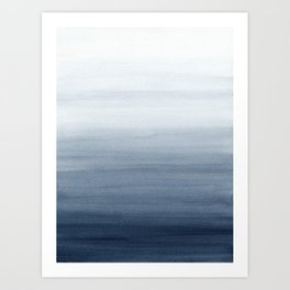 Ocean Watercolor Painting No.2 Art Print