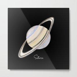 Saturn #2 Metal Print