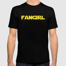 Fangirl Mens Fitted Tee Black MEDIUM