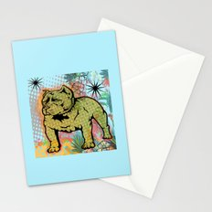 Cool dog pop art Stationery Cards