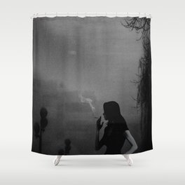 Light and Darkness.. Shower Curtain