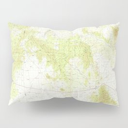 NM Magdalena 191415 1979 topographic map Pillow Sham