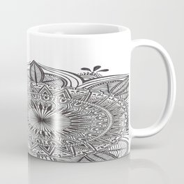 Mega Mandala by Lady Lorelie Coffee Mug