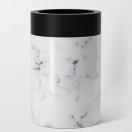 Baesic White Marble Texture Can Cooler
