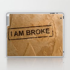 Broke Laptop & iPad Skin