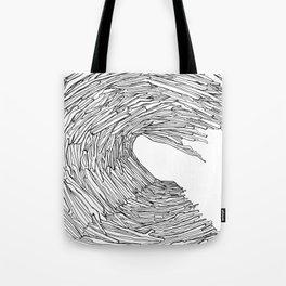 Drift wave Tote Bag