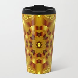 kaleidoscope Flower G68 Travel Mug