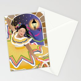 Fiesta Mexican Dancer Stationery Cards