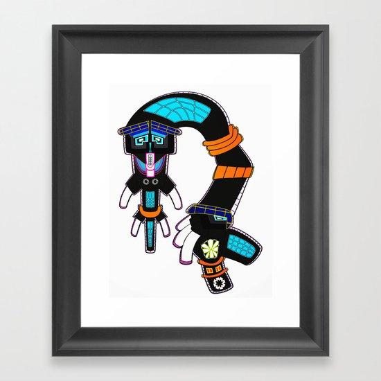 Eel Framed Art Print