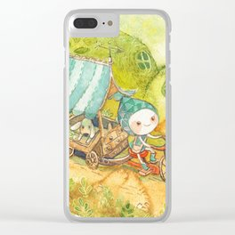 On the Road ! Clear iPhone Case