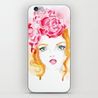 doll iPhone & iPod Skins featuring Doll by S'ANNie