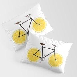 Lemon Bike Pillow Sham