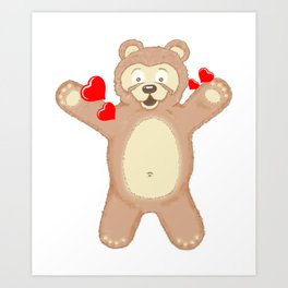 Gimme a hug please!!! Art Print