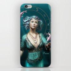 Pisces zodiac fantasy circle iPhone & iPod Skin