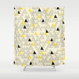 Bee Mountains II Shower Curtain