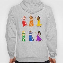 Belly Dancers - Rainbow Colors Hoody