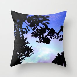Silhouette Throw Pillow