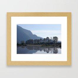 Seren Reflection Framed Art Print