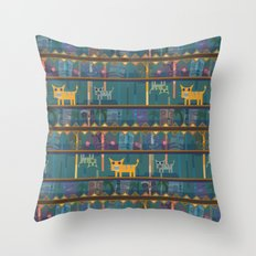 Tiki drunk! Throw Pillow