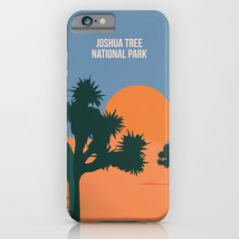 Enjoy The Sun And Explore The Wilderness Of The Joshua Tree National Park iPhone Case
