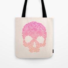 Labyrinthine Skull - Tropical Tote Bag
