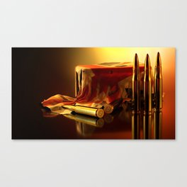Sling Lead Canvas Print