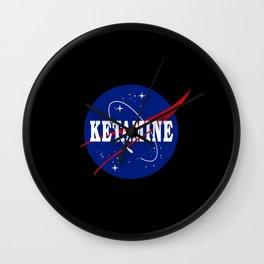Ketamine Nasa Parody Wall Clock