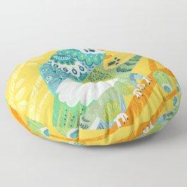 Parakeet Pals Floor Pillow