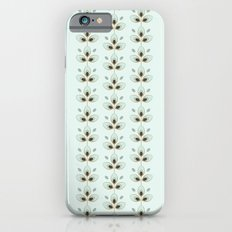 Mint Blossoms iPhone 6s Slim Case