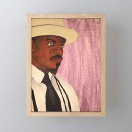 Andre 3000 Framed Mini Art Print