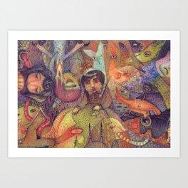 The Stubbornness of Memories Art Print
