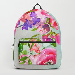 Flowers bouquet #51 Backpack