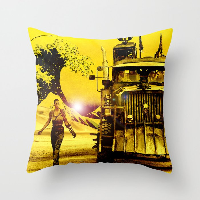 Furiosa - Mad Max Fury Road Throw Pillow