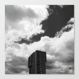 Tower in the Sky Canvas Print