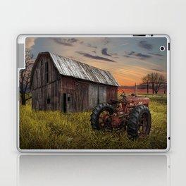 Abandoned Farmall Tractor and Barn Laptop & iPad Skin