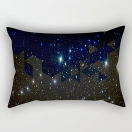 SPACE BACKGROUND Rectangular Pillow