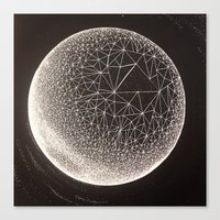 constellation Canvas Prints featuring Constellation by Shelbie Sanderson