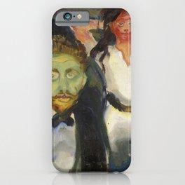 Edvard Munch - Jealousy iPhone Case