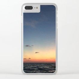 Sunset St Pete Beach 3 Clear iPhone Case