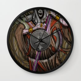 In the Halls of the Mage-King Wall Clock