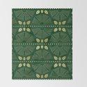 Emerald Art Deco Fan by wellingtonboot