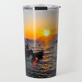 Cinque Terre Sunset Travel Mug