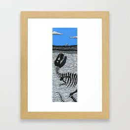 Hold On to Your Butts Framed Art Print