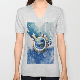 TRAVEL Unisex V-Neck